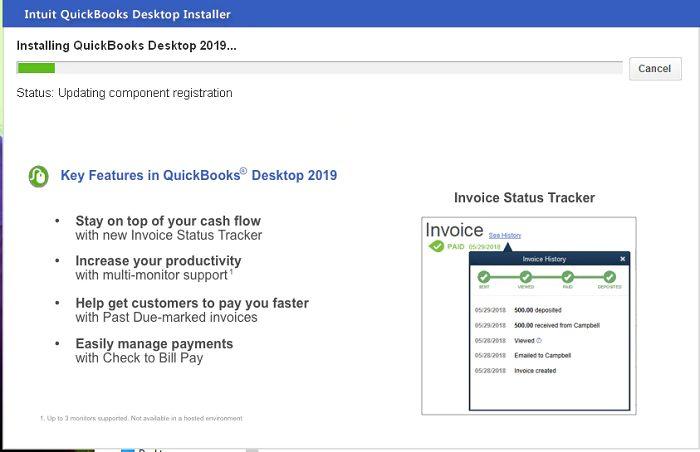 QuickBooks reinstallation
