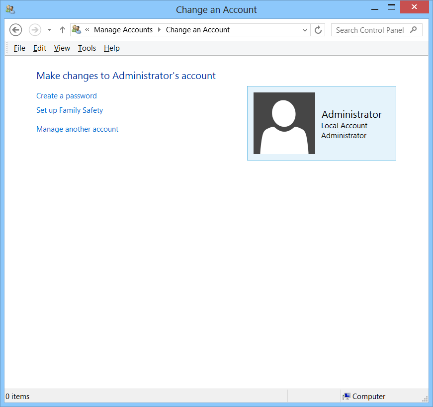 Windows Admin User Account Creation