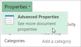 hecking the Company File Properties