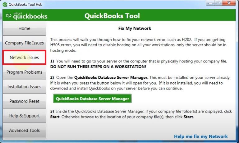 Tool Hub Network Issues
