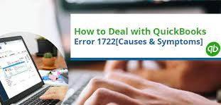 QuickBooks Error 1722: Symptoms and Signs