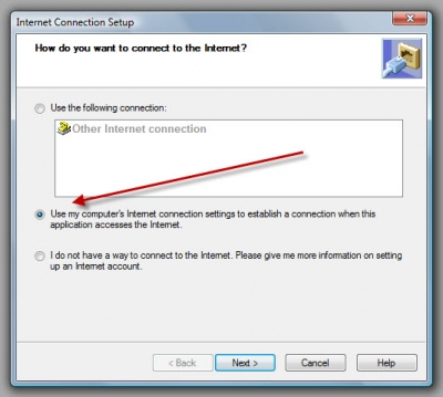 Setting Up Stable Internet Connection