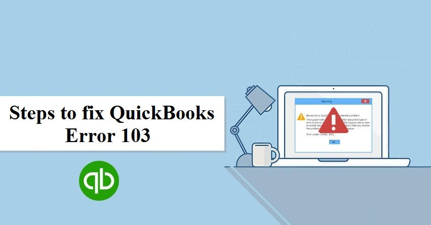 QuickBooks Error 103