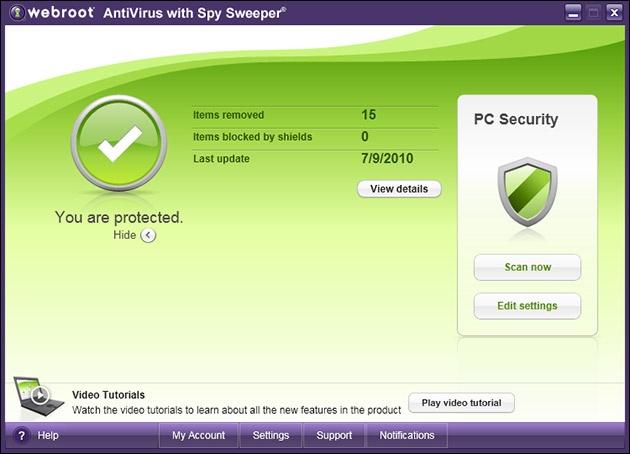 Stopping Spy Sweeper Anti-Virus