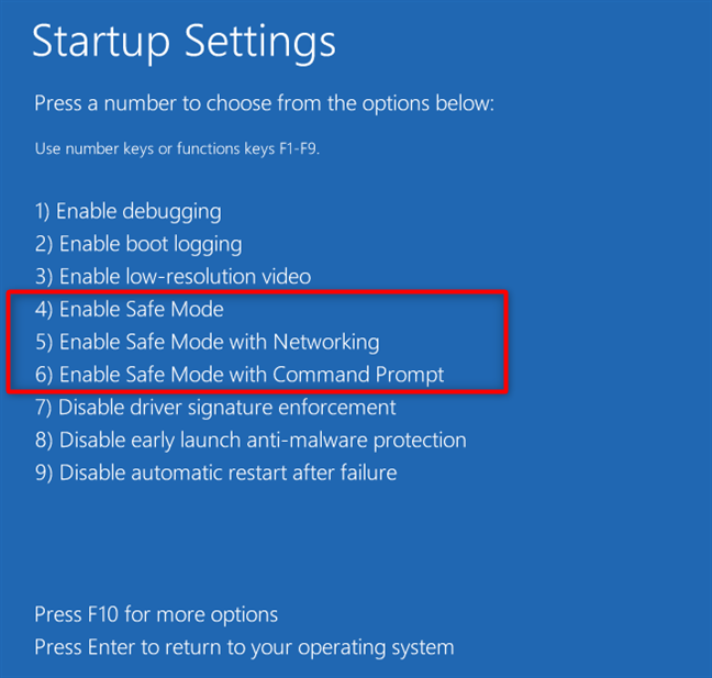 Reset the Windows in Safe Mode