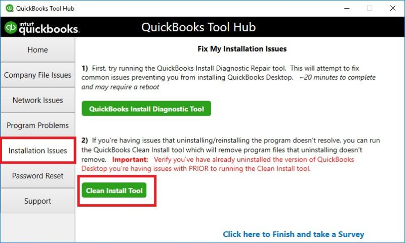 Clean Install Tool
