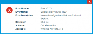 error 15271 message
