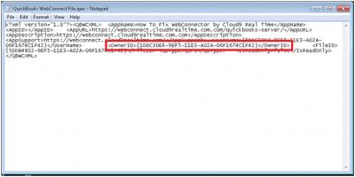 Quickbooks-XML-Error