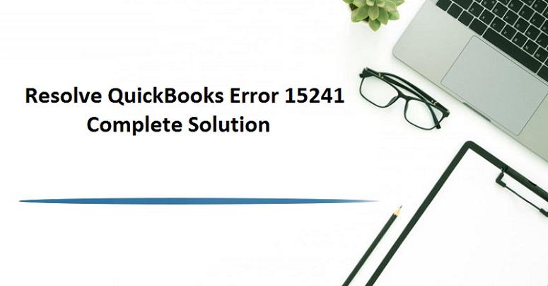 error 15241 quickbooks