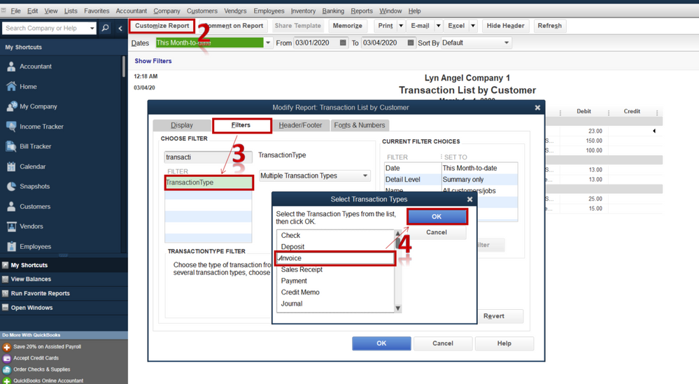 invoice QuickBooks found an error when parsing the provided XML text stream