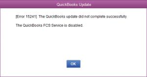 quickbooks error 15241